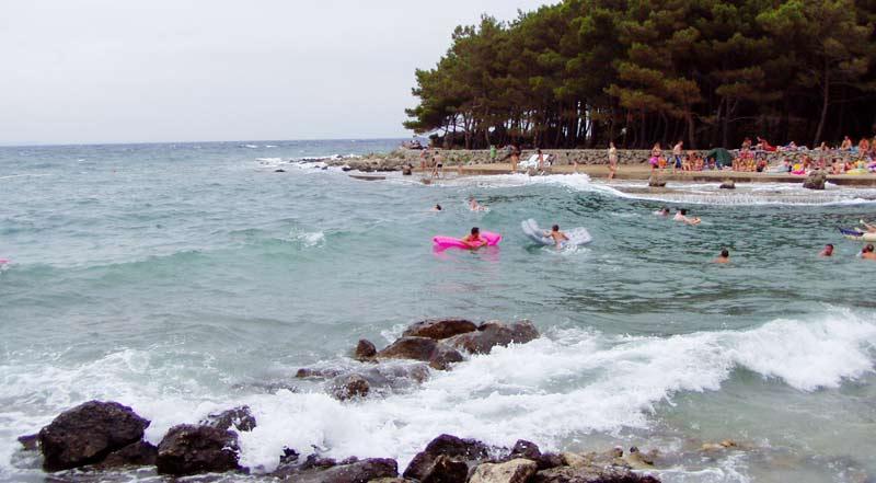 Krk, plaža